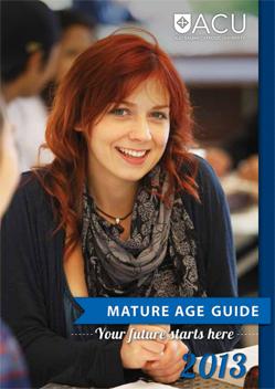 2013 Mature Age Guide