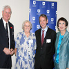 Queensland Catholic Education Commission executive director Mike Byrne, Sister Rosemary Grundy, ACU Vice-Chancellor Professor Greg Craven and ACU Executive Dean Professor Marie Emmitt at the launch of the ACU Chair in Identity and Curriculum in Catholic Education campaign